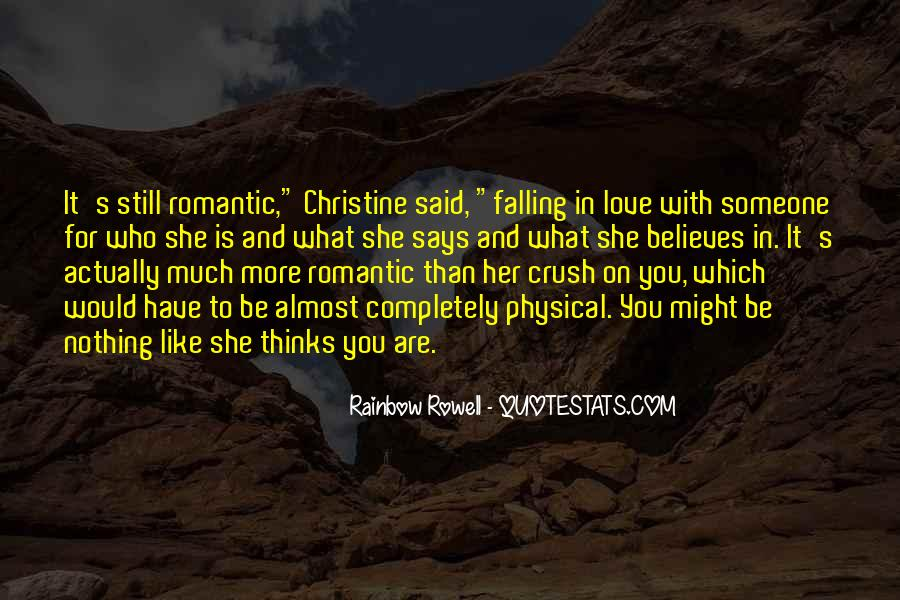 Quotes About Almost Falling In Love #1869752