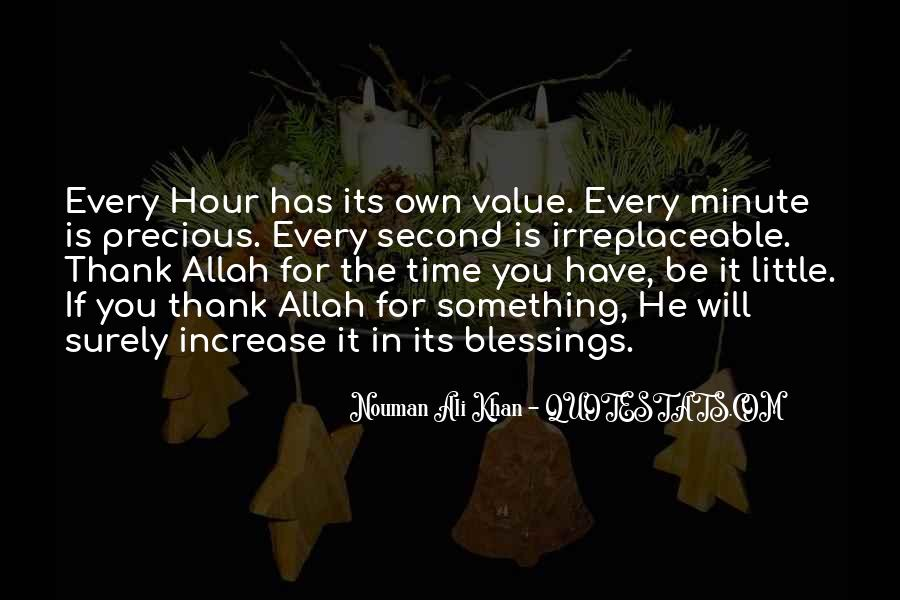 Quotes About Thank You Allah #1235094