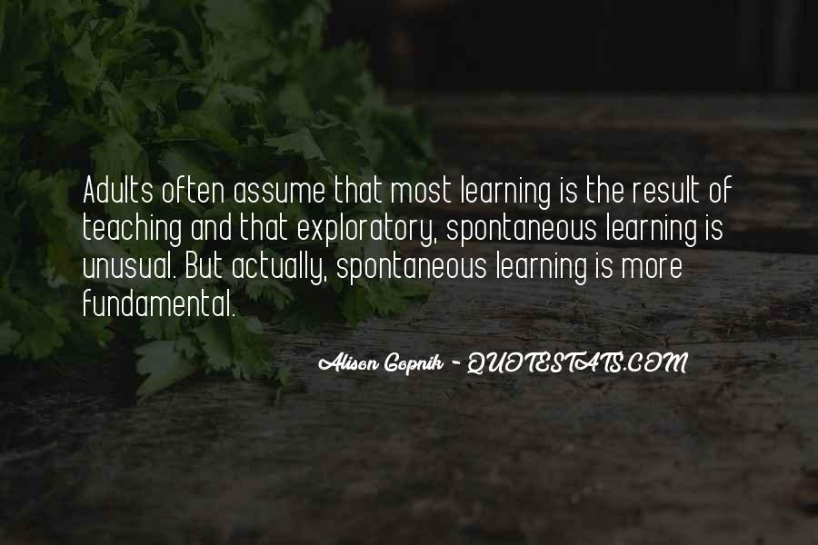 Quotes About Adults Learning #1325749