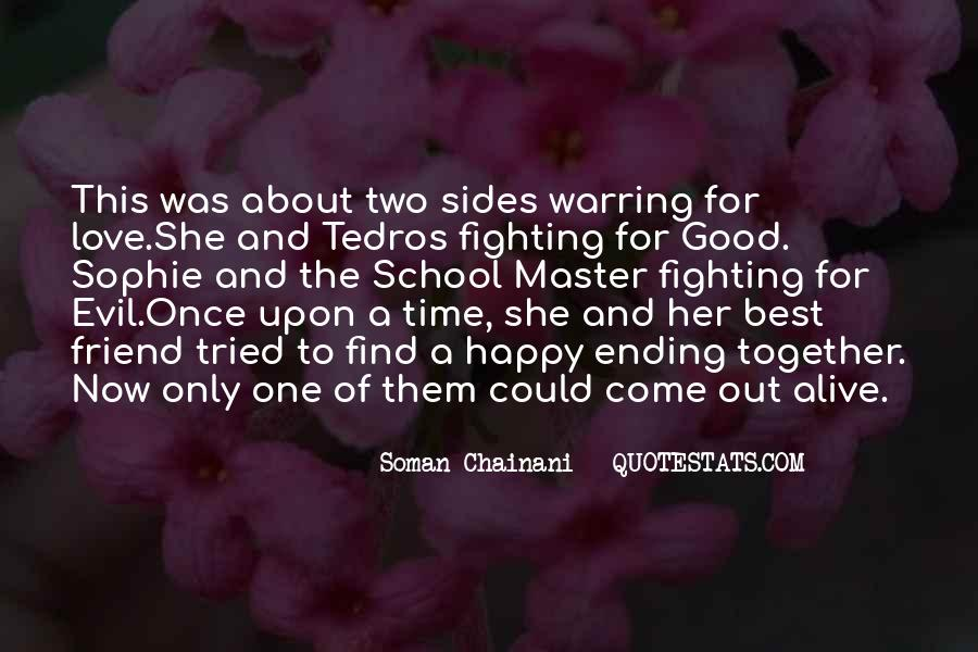 Quotes About Fighting Evil #1180555