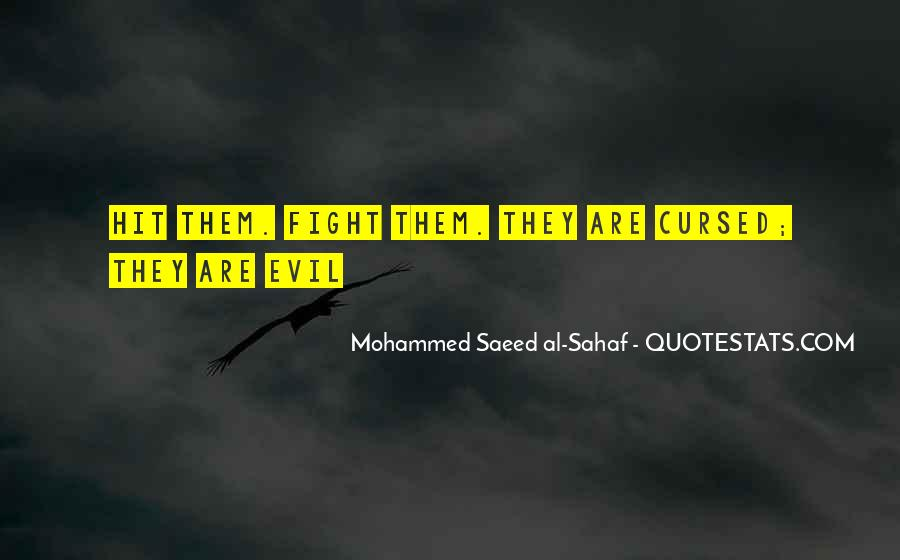 Quotes About Fighting Evil #1358088