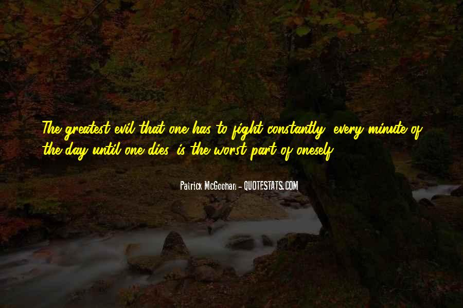 Quotes About Fighting Evil #222082