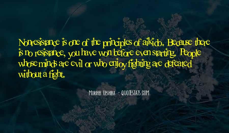 Quotes About Fighting Evil #485202