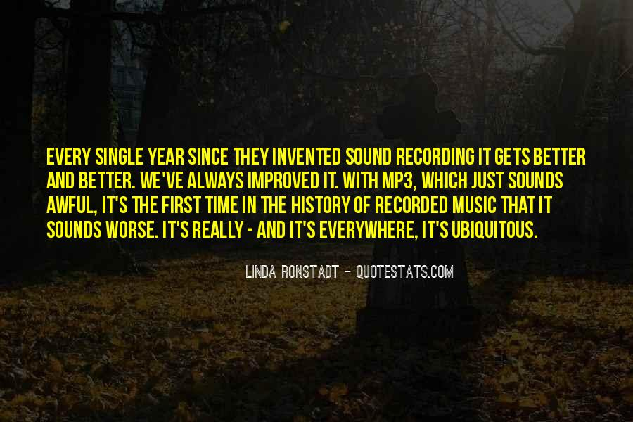 Quotes About Recording History #1065115