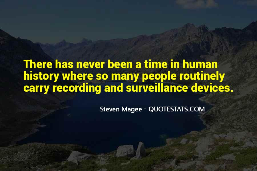 Quotes About Recording History #1325547