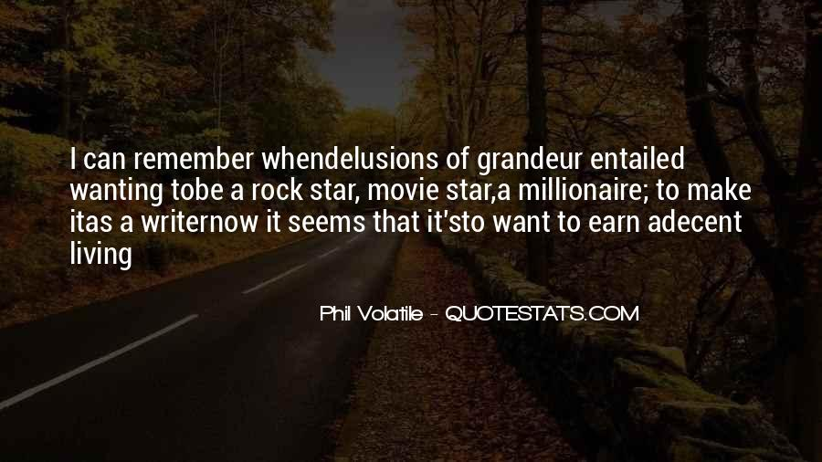 Quotes About Wanting Money #31663