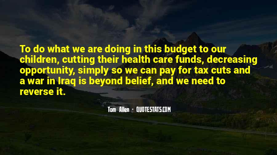 Quotes About Pay Cuts #1751009