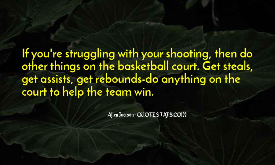 Quotes About Basketball Shooting #1318026