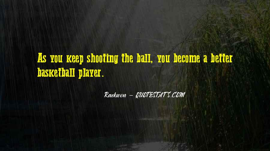 Quotes About Basketball Shooting #1873656
