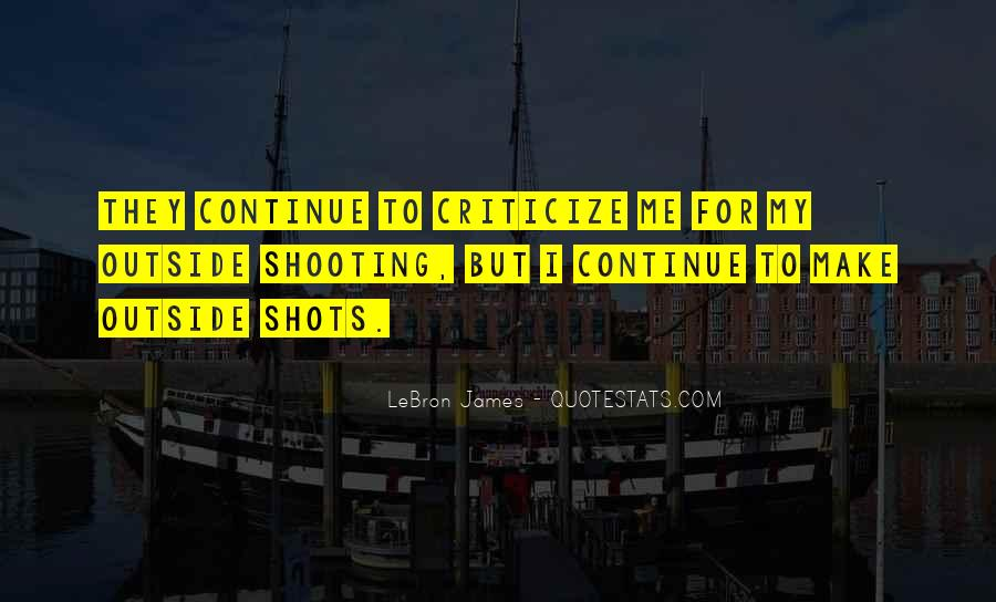 Quotes About Basketball Shooting #615588