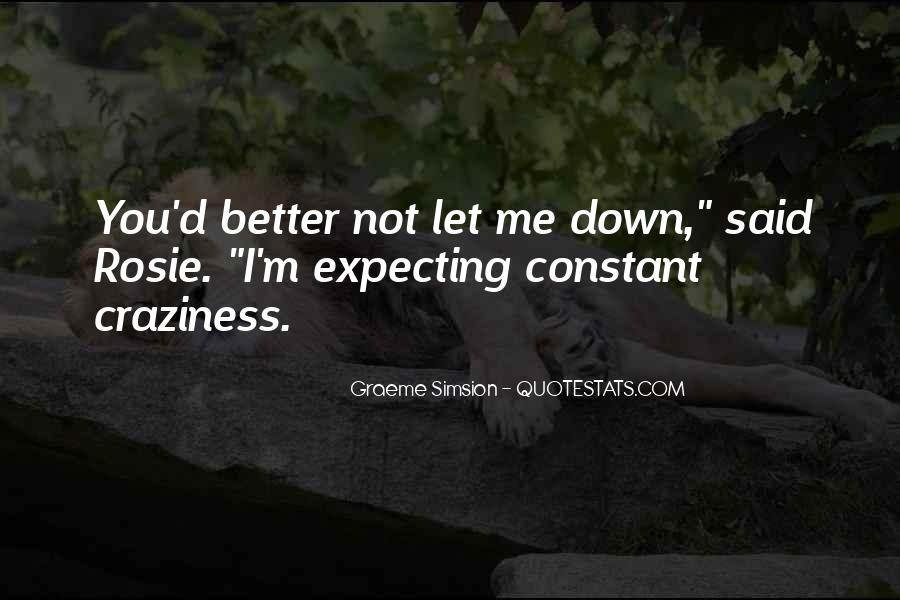 Quotes About You Let Me Down #188771