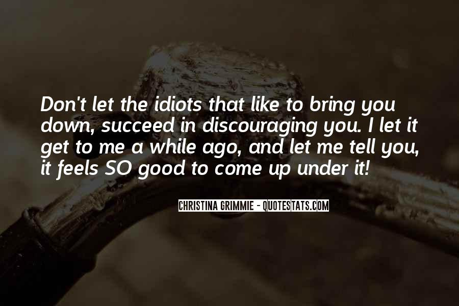 Quotes About You Let Me Down #227601