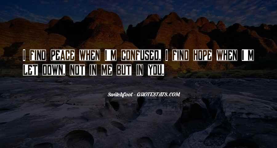 Quotes About You Let Me Down #442403