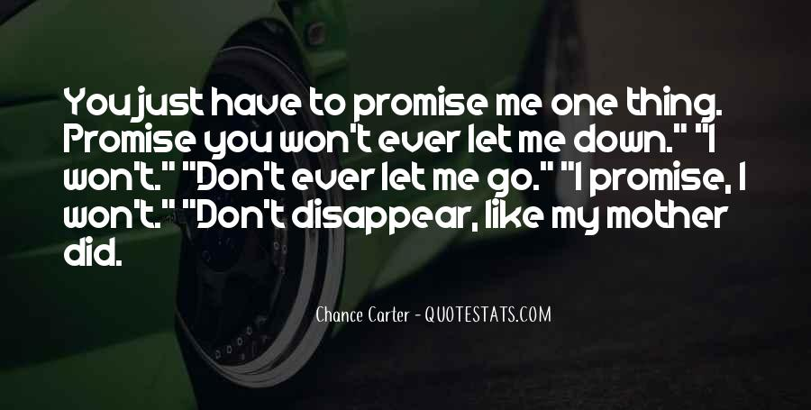 Quotes About You Let Me Down #817021