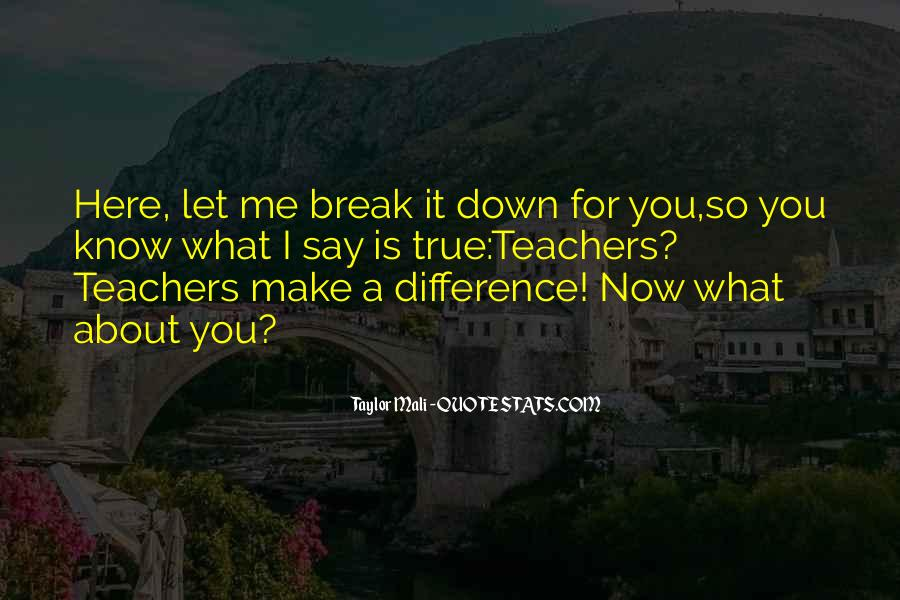 Quotes About You Let Me Down #933064