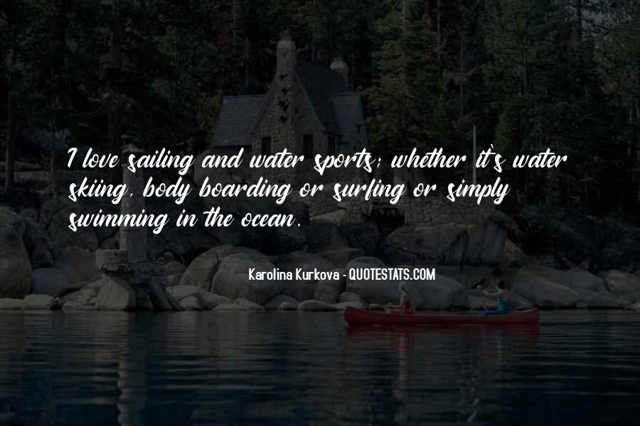 Quotes About Sailing And Love #141437
