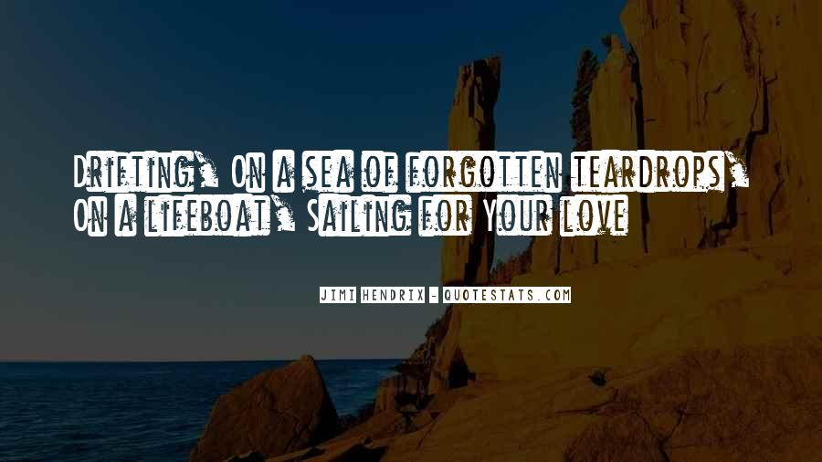 Quotes About Sailing And Love #775843