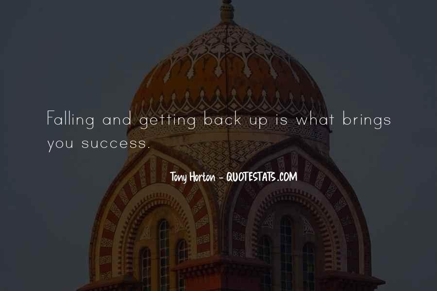 Quotes About Getting Back Up When You Fall #1199650