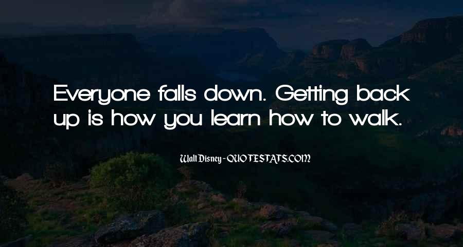 Quotes About Getting Back Up When You Fall #1274036