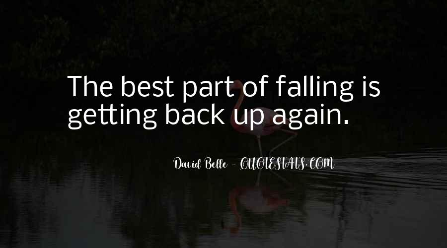 Quotes About Getting Back Up When You Fall #472324