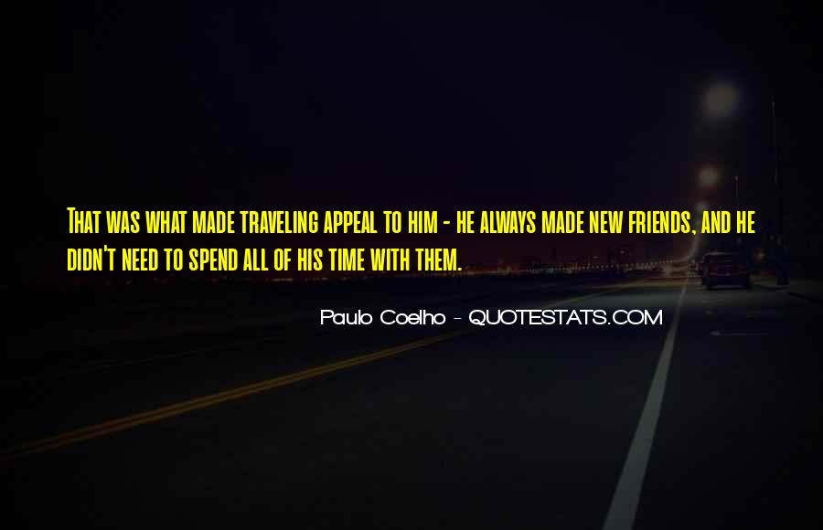 Quotes About Traveling With Friends #120970