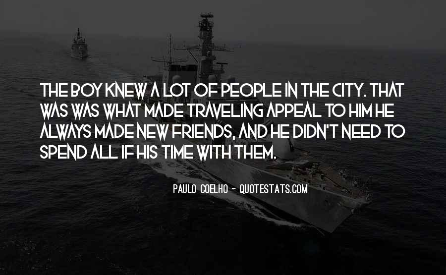 Quotes About Traveling With Friends #168603