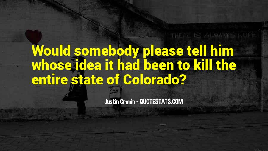 Quotes About The State Of Colorado #1583499
