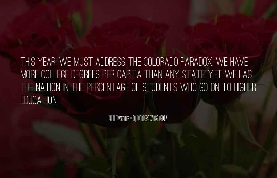Quotes About The State Of Colorado #269586