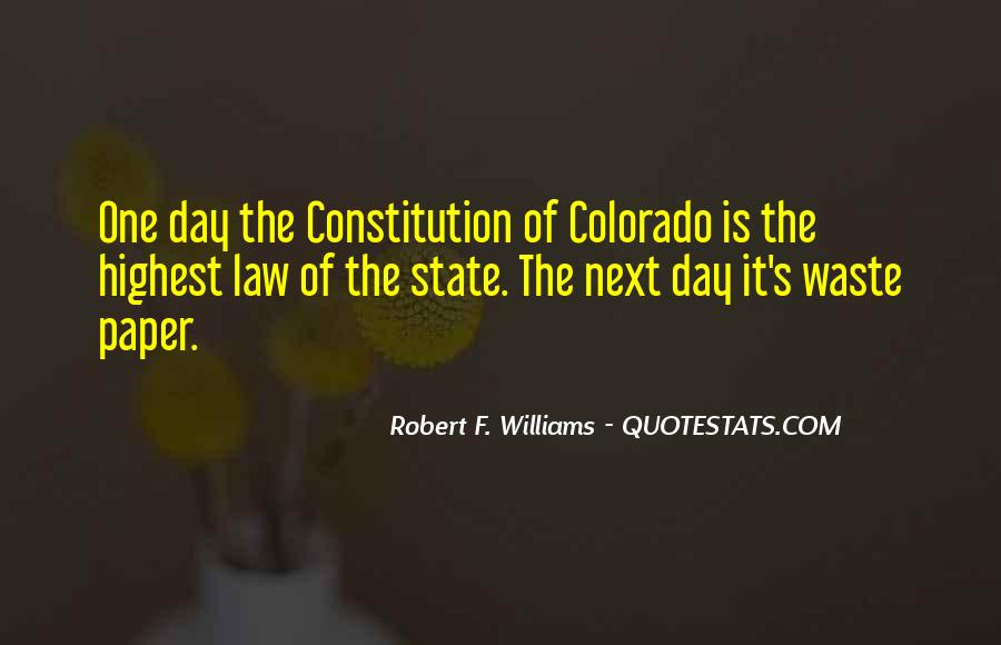 Quotes About The State Of Colorado #384191