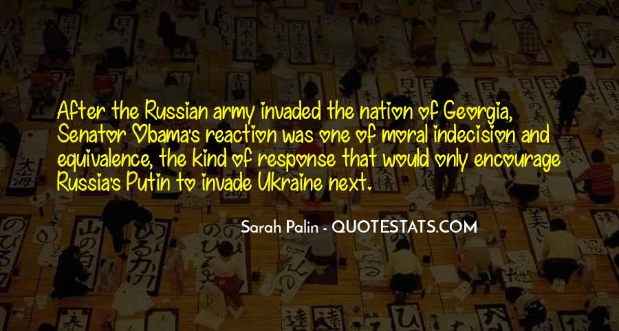 Quotes About Putin Ukraine #1556357