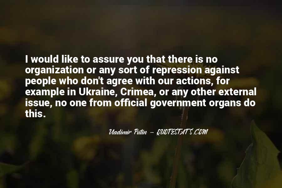 Quotes About Putin Ukraine #56838