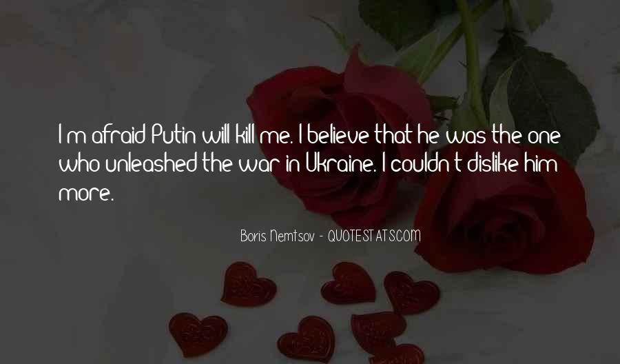 Quotes About Putin Ukraine #631208
