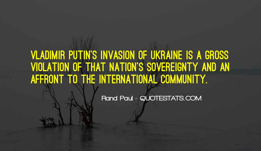 Quotes About Putin Ukraine #97793