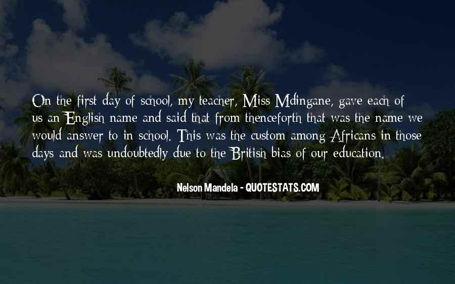 Quotes About Education By Nelson Mandela #1216310