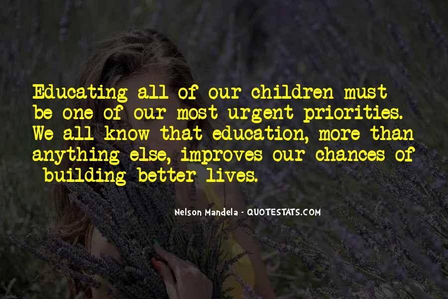 Quotes About Education By Nelson Mandela #1381593