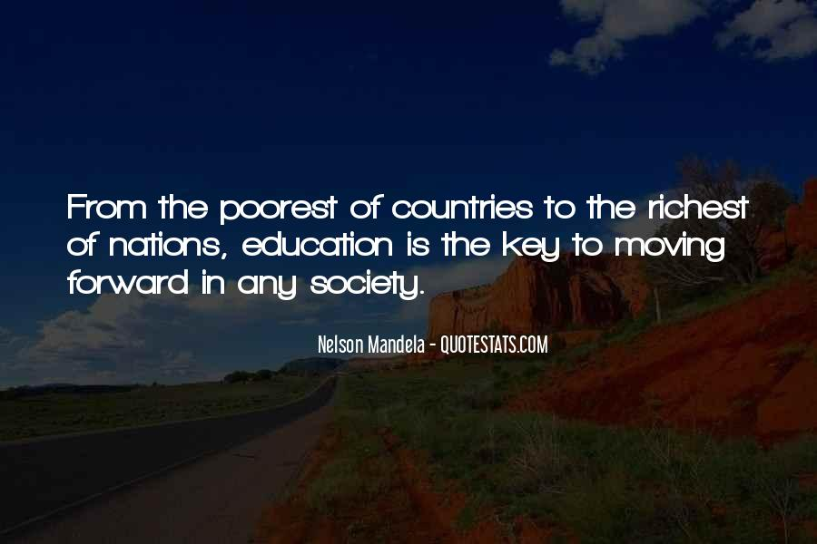 Quotes About Education By Nelson Mandela #273216