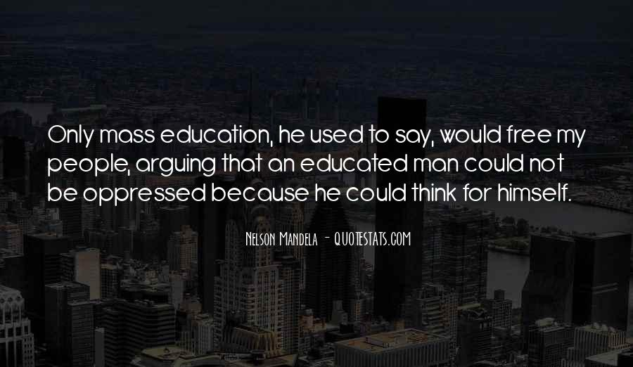 Quotes About Education By Nelson Mandela #473692