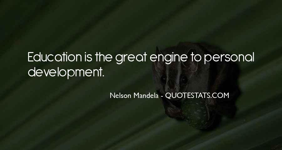 Quotes About Education By Nelson Mandela #668662