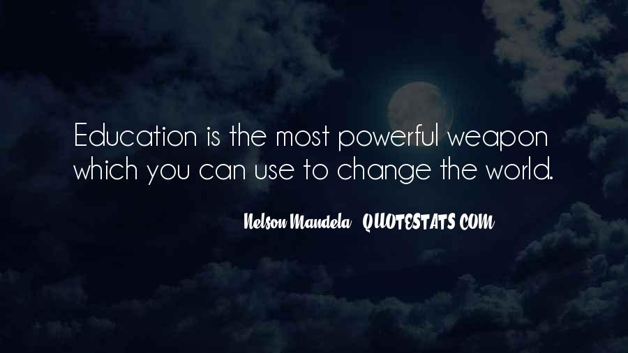 Quotes About Education By Nelson Mandela #694466
