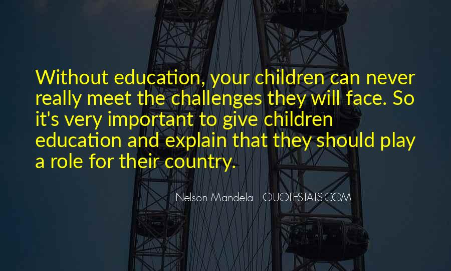 Quotes About Education By Nelson Mandela #885587