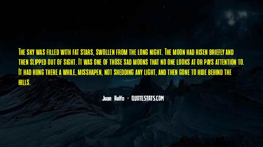 Quotes About Sad Moon #286151