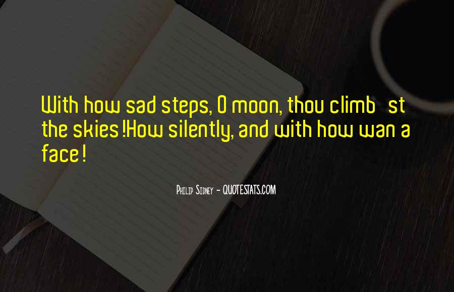 Quotes About Sad Moon #554009