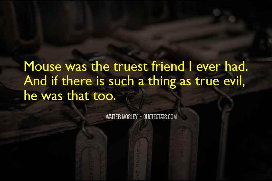 Quotes About A True Friend #499422