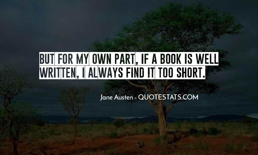 Quotes About Jane Austen's Books #1207671