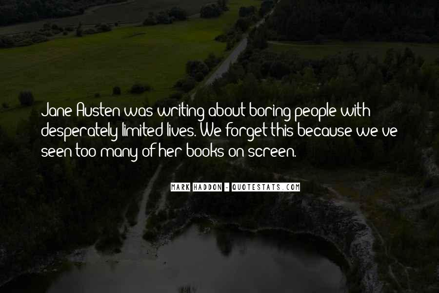 Quotes About Jane Austen's Books #129267
