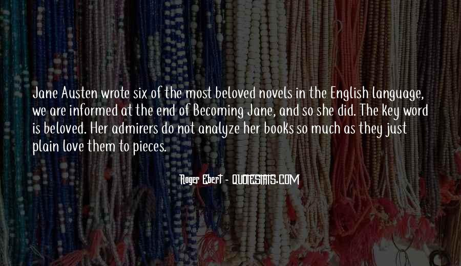Quotes About Jane Austen's Books #427105