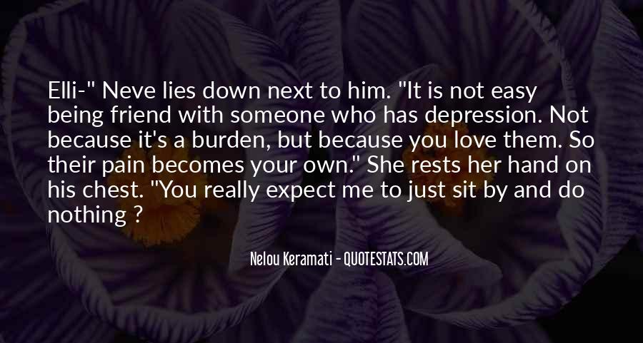 Quotes About Lies And Love #125853