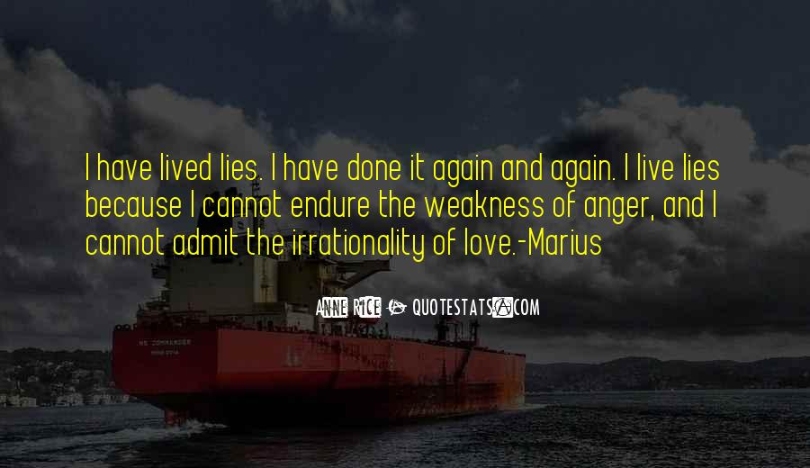 Quotes About Lies And Love #190550
