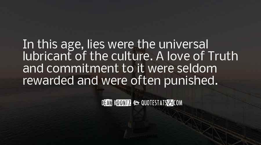 Quotes About Lies And Love #218479