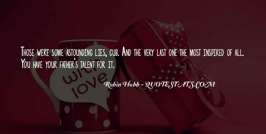 Quotes About Lies And Love #318391